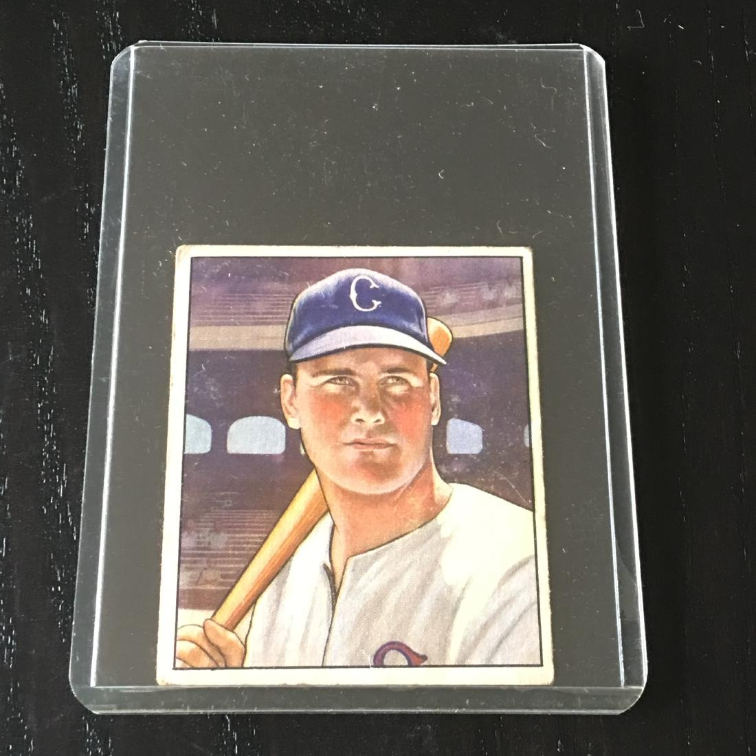 1950 Bowman Baseball Card Gus Zernial 4 Mar 17 2019 Petruccos