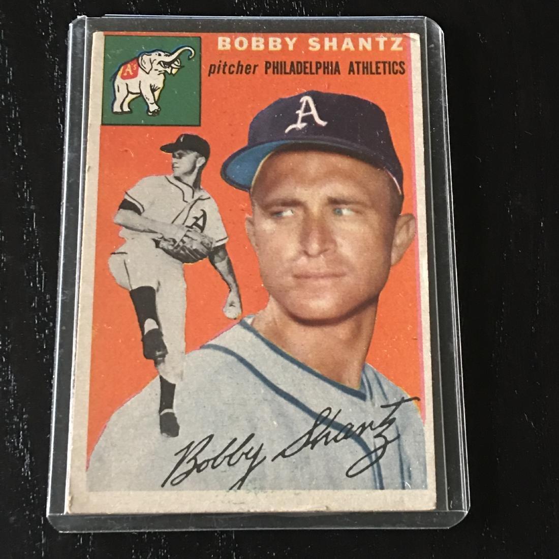 1954 Topps Baseball Card Bobby Shantz 21 Apr 07 2019