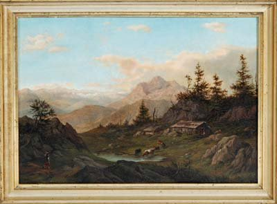 1700: Romantiker des 19.Jh., wohl Max Wagenbauer 1775-1