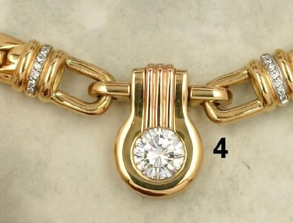 4: Collier der Spitzenklasse von ''Wellendorf'' GG 750/
