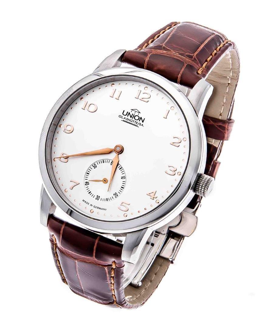 Union Glashütte wristwatch, Germany, c. 2006, automatic
