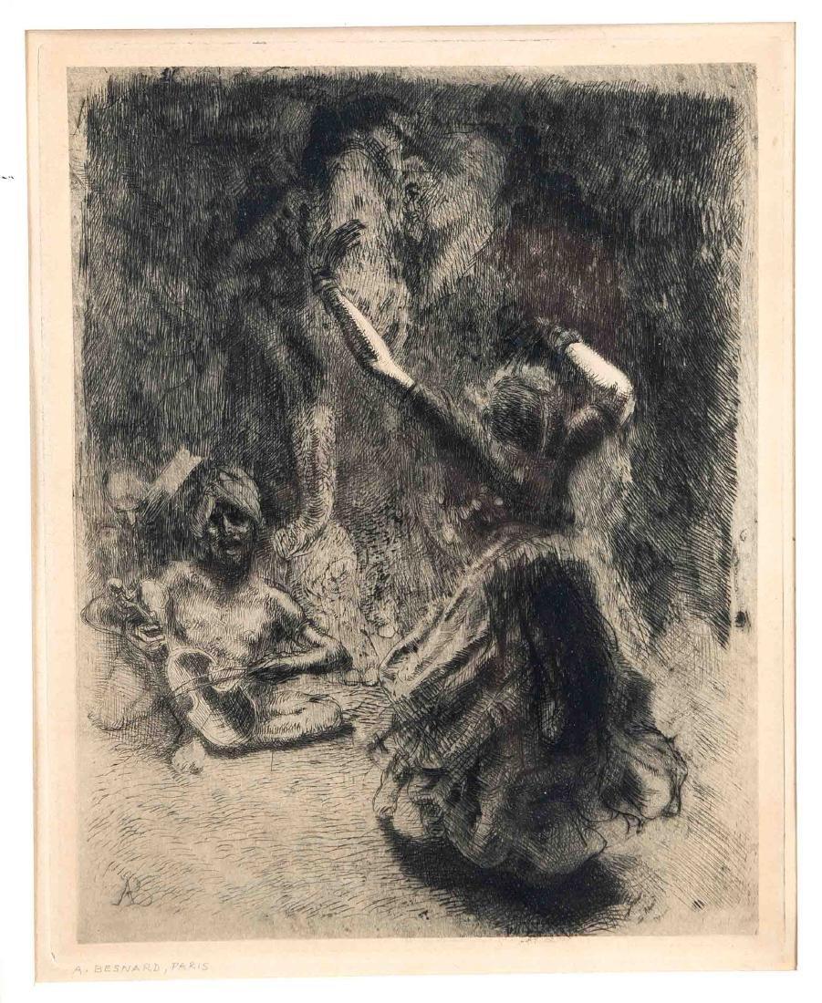 """Albert Besnard (1849-1934), """"Die Bajadere"""","""