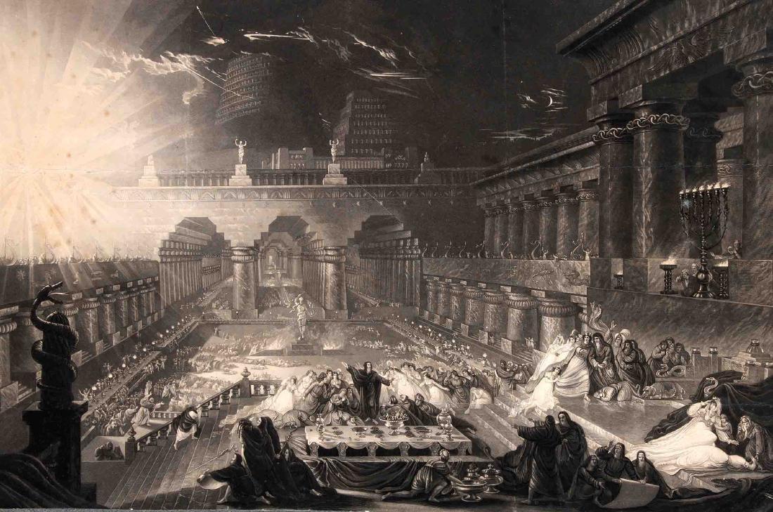 John Martin (1789-1854), ''Belshazzar's Feast'', large