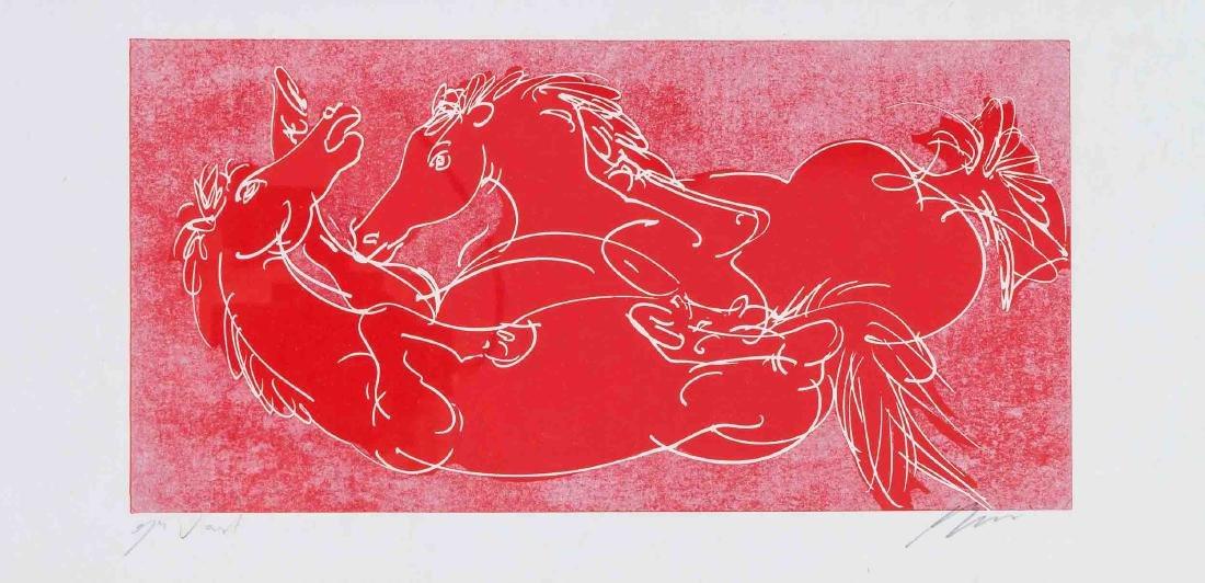 Hans Erni (1909-2015), bedeutender Schweizer Künstler,