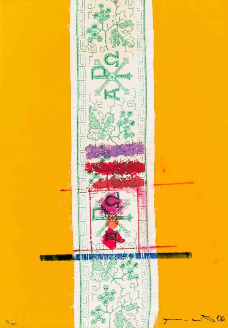 Hermann Nitsch (*1938), Collage, Multiple , 2006,