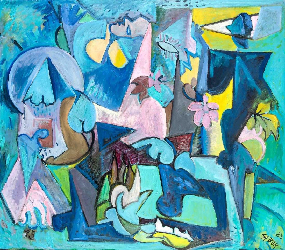 Robert Labor (*1937), französischer Maler, tätig auf La