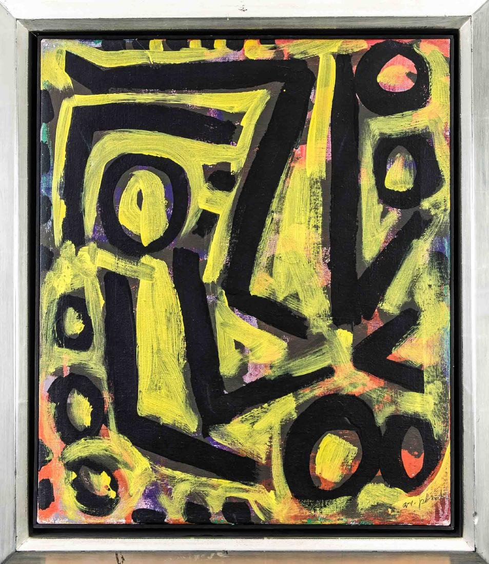 A.R. Penck (geb. 1939) important German painter and
