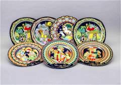 Seven plates, Ropsenthal, Studio-Line, design Björn