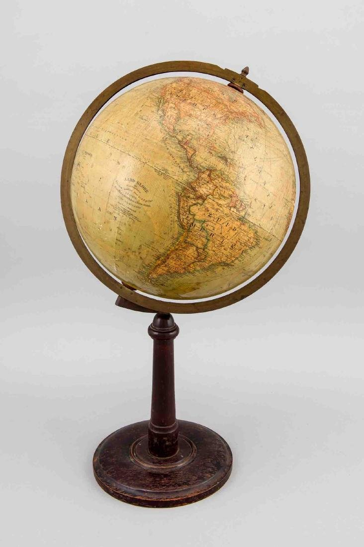 Niederländ. Globus, um 1920, Hersteller Signet