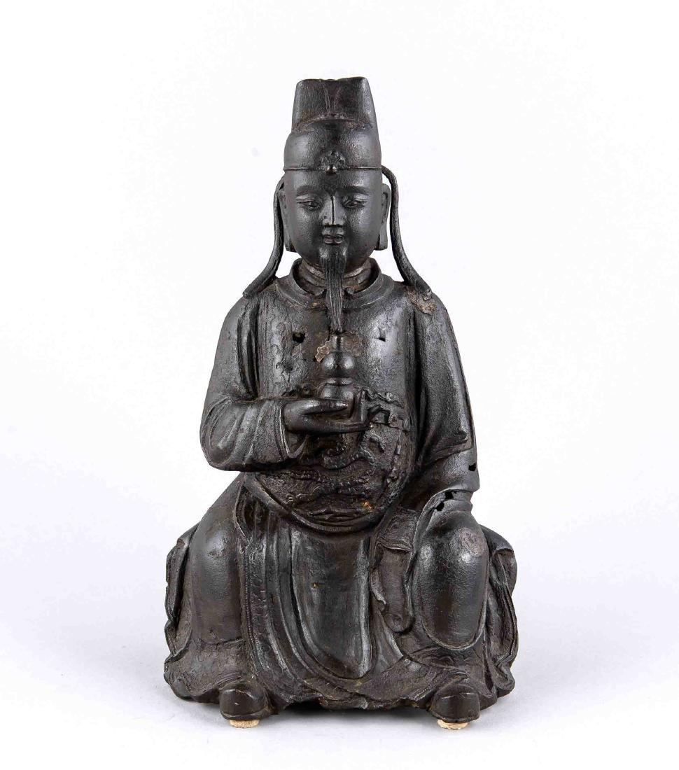 Bronze figure, China, 17th / 18th Century, figurative