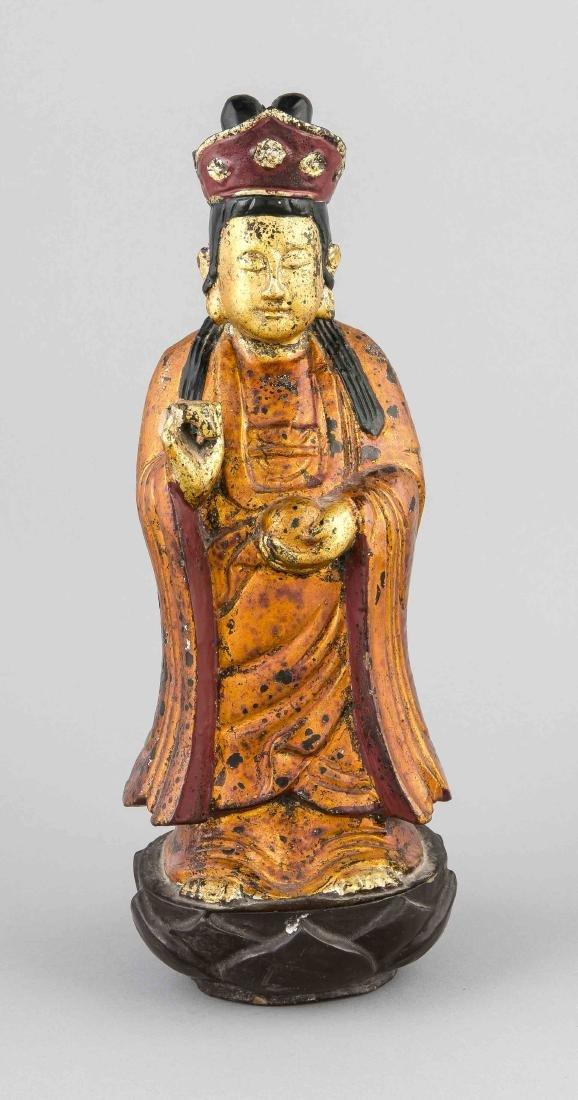Chinesische Holzschnitzerei, 19