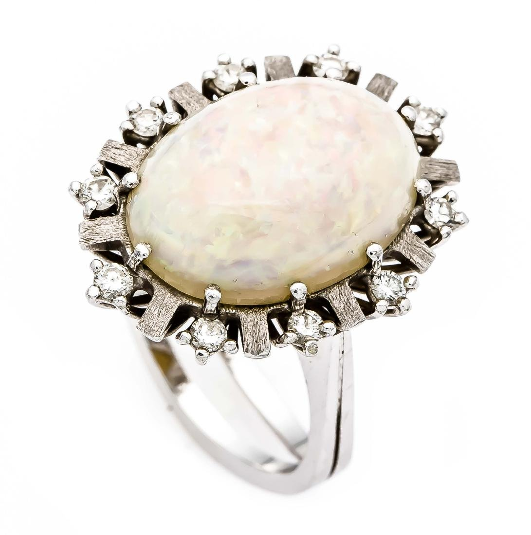 Opal-Brillant-Ring