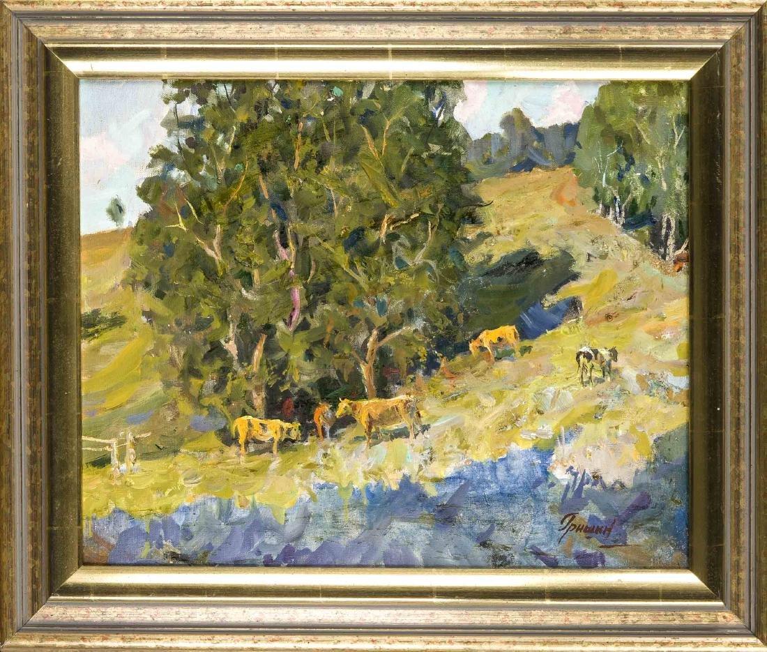 N. Grishin, russischer Maler 2