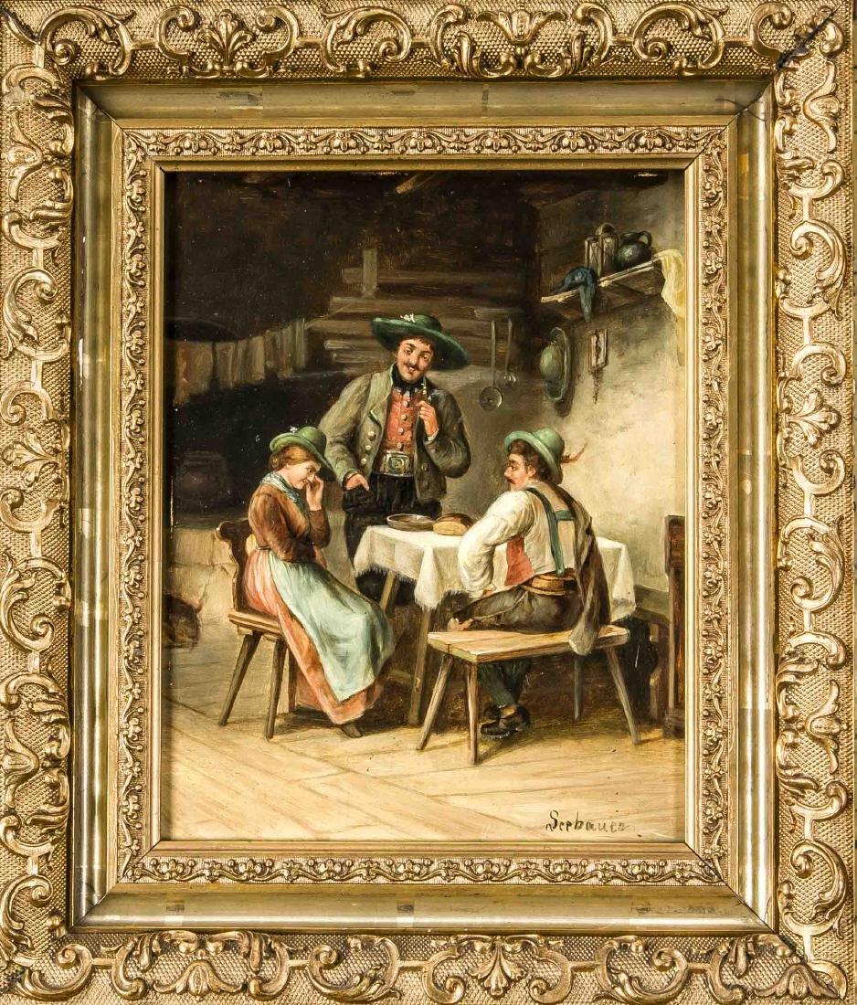Franz Seebauer, Münchener Genremaler Ende 19