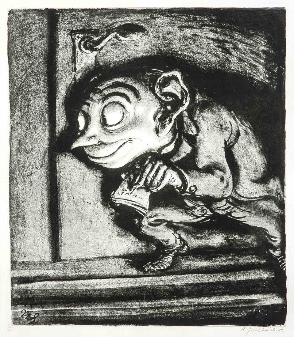 A. Paul Weber (1893-1980), ''Der Denunziant II