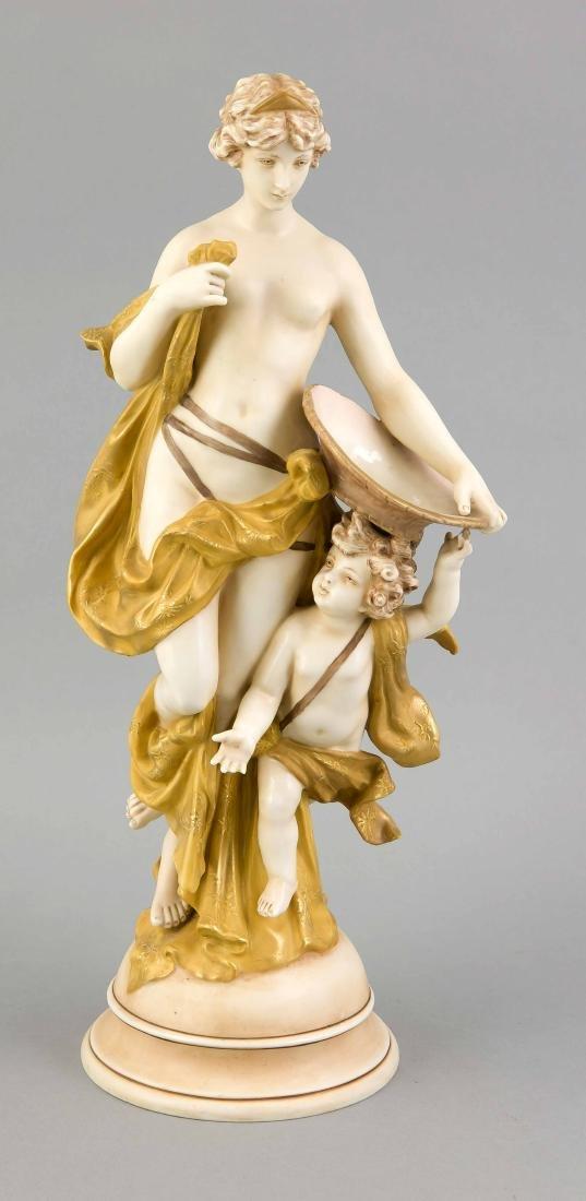 Nymphe und Cupid, w