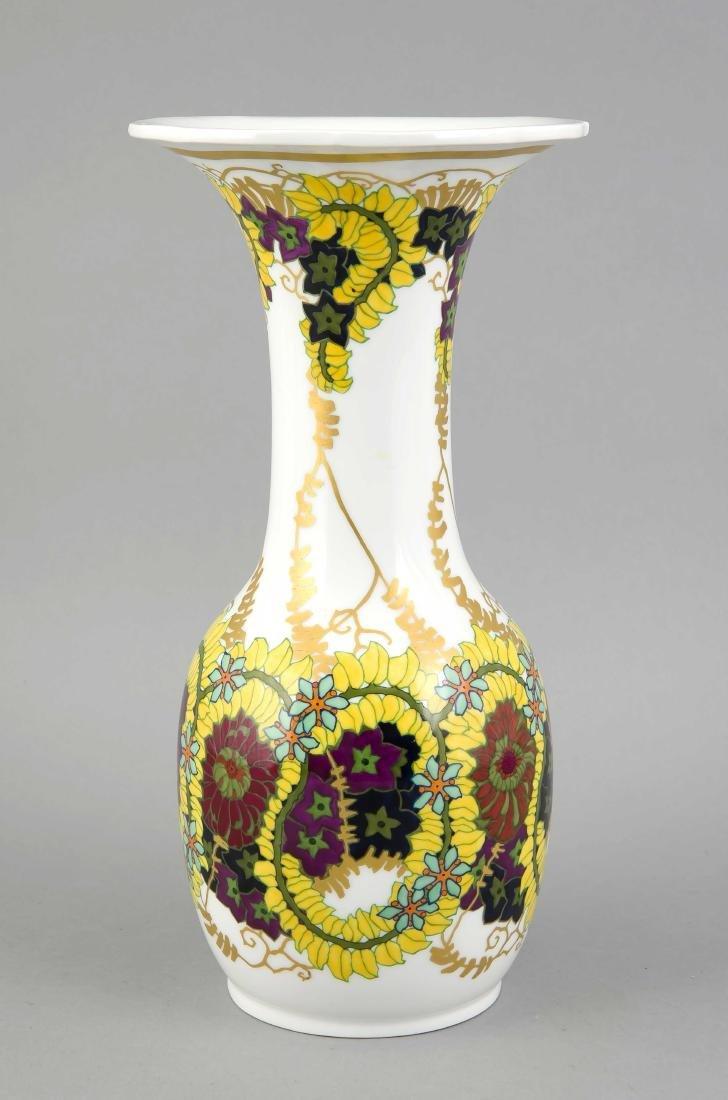 Jugendstil-Vase, KPM Berlin, Marke 1