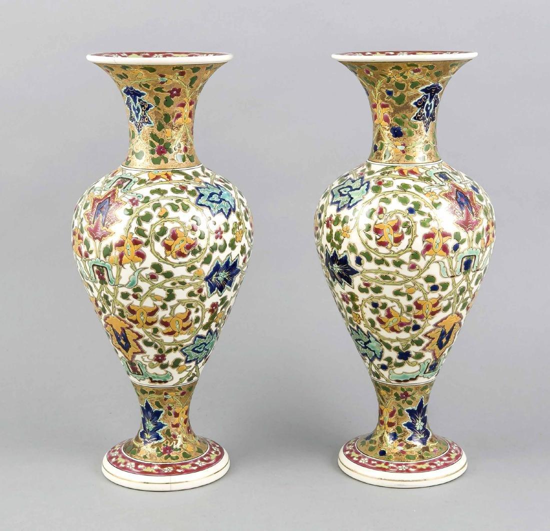 Paar Vasen, Fischer