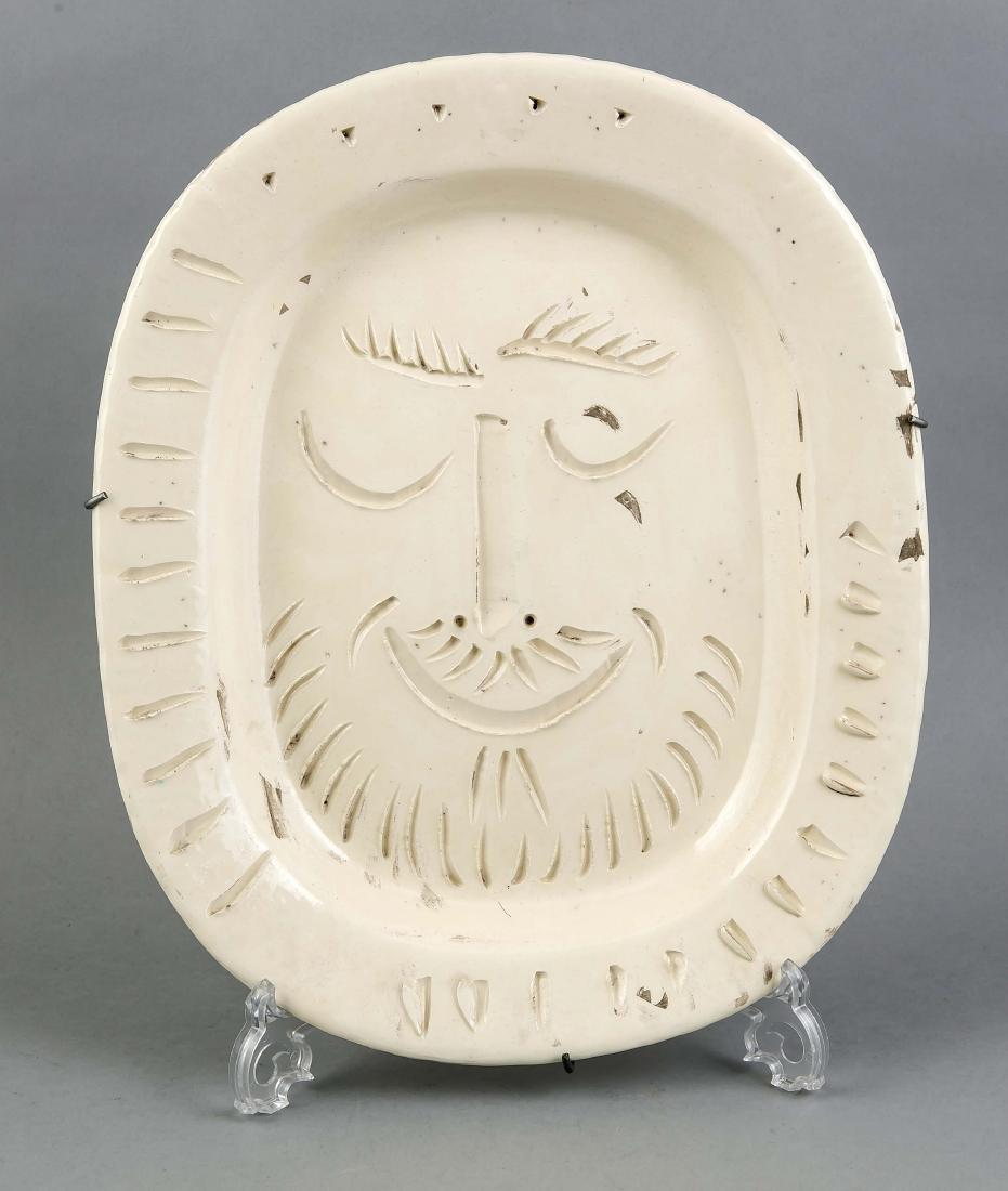 Keramik-Teller,