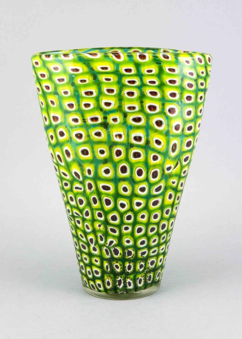 Vase, wohl Italien, Murano, 20