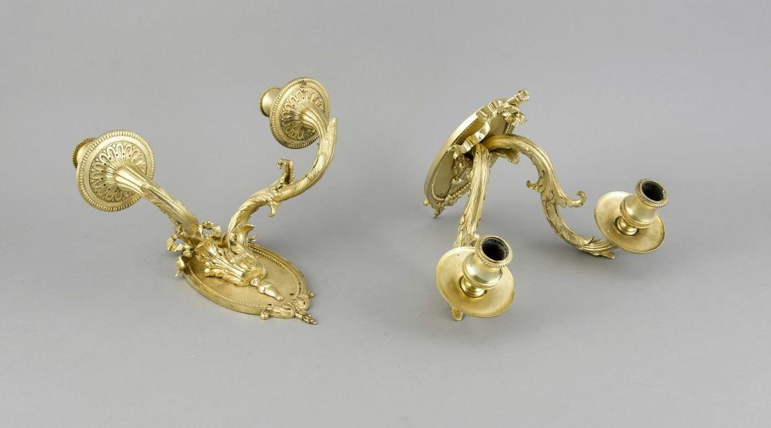 Paar Wandappliquen im Louis-XVI-Stil, 20