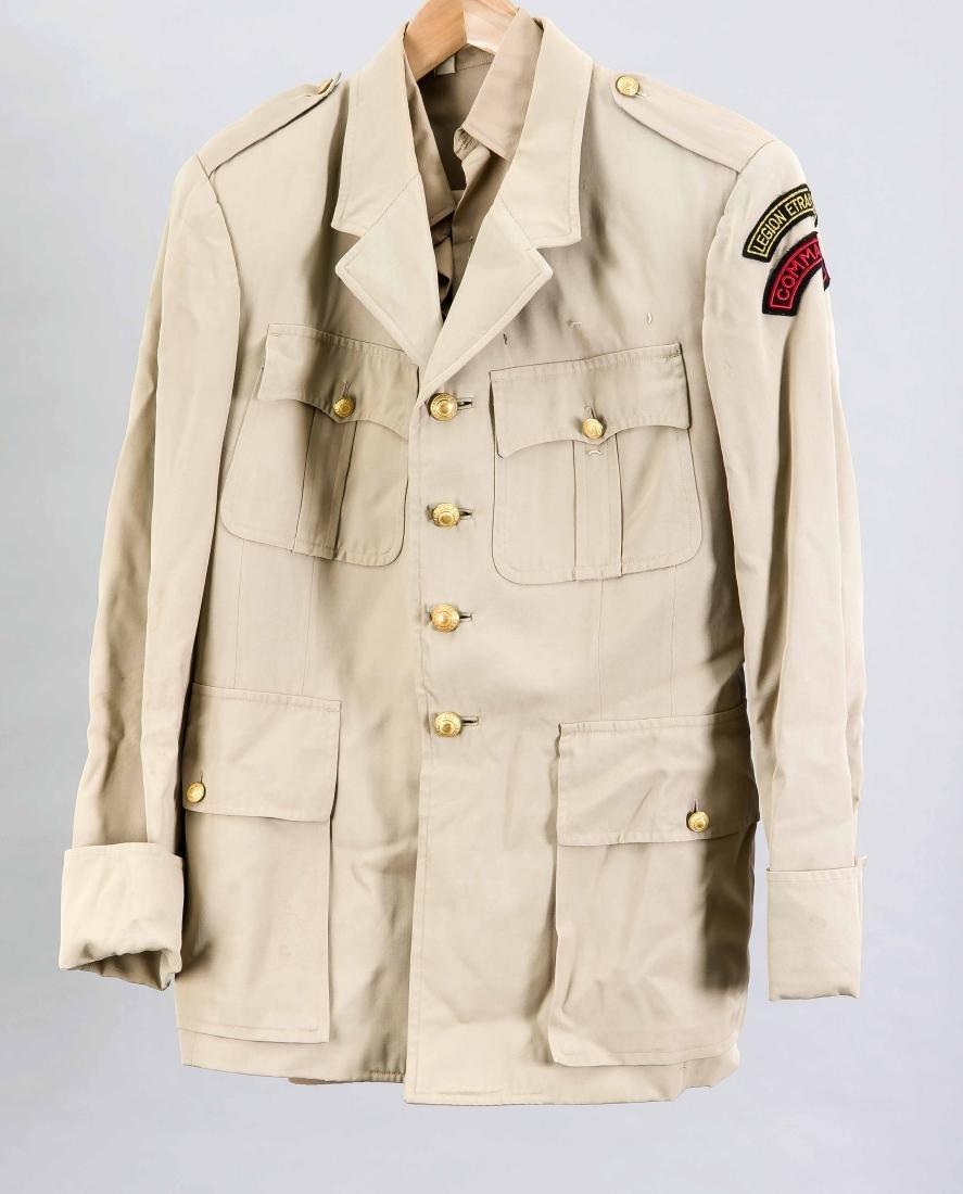 Uniform, Légion étrangère Commands, mit Hemd u