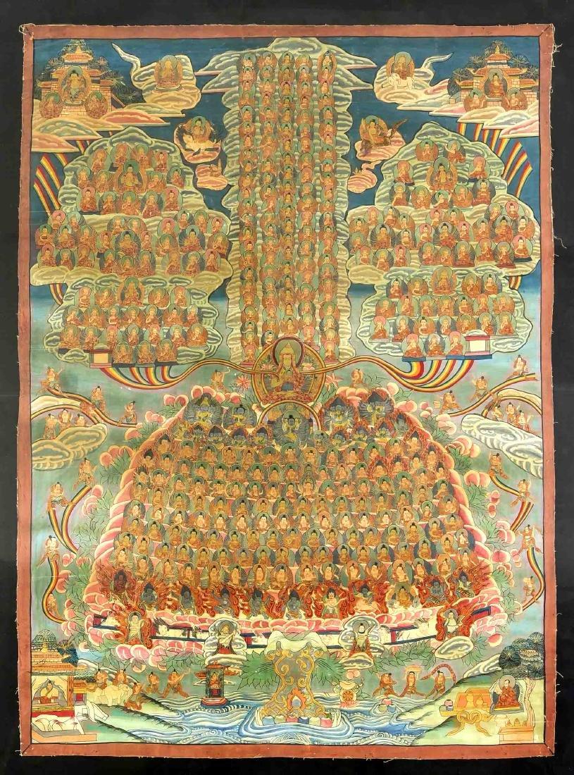 Thangka, Tibet, 1