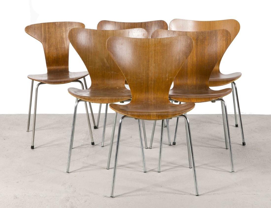 Arne Jacobsen Stühle arne jacobsen 1902 1971 for fritz hansen pot chair