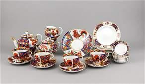 Tea service for 6 persons, 29 pcs., Lomonosov factory,