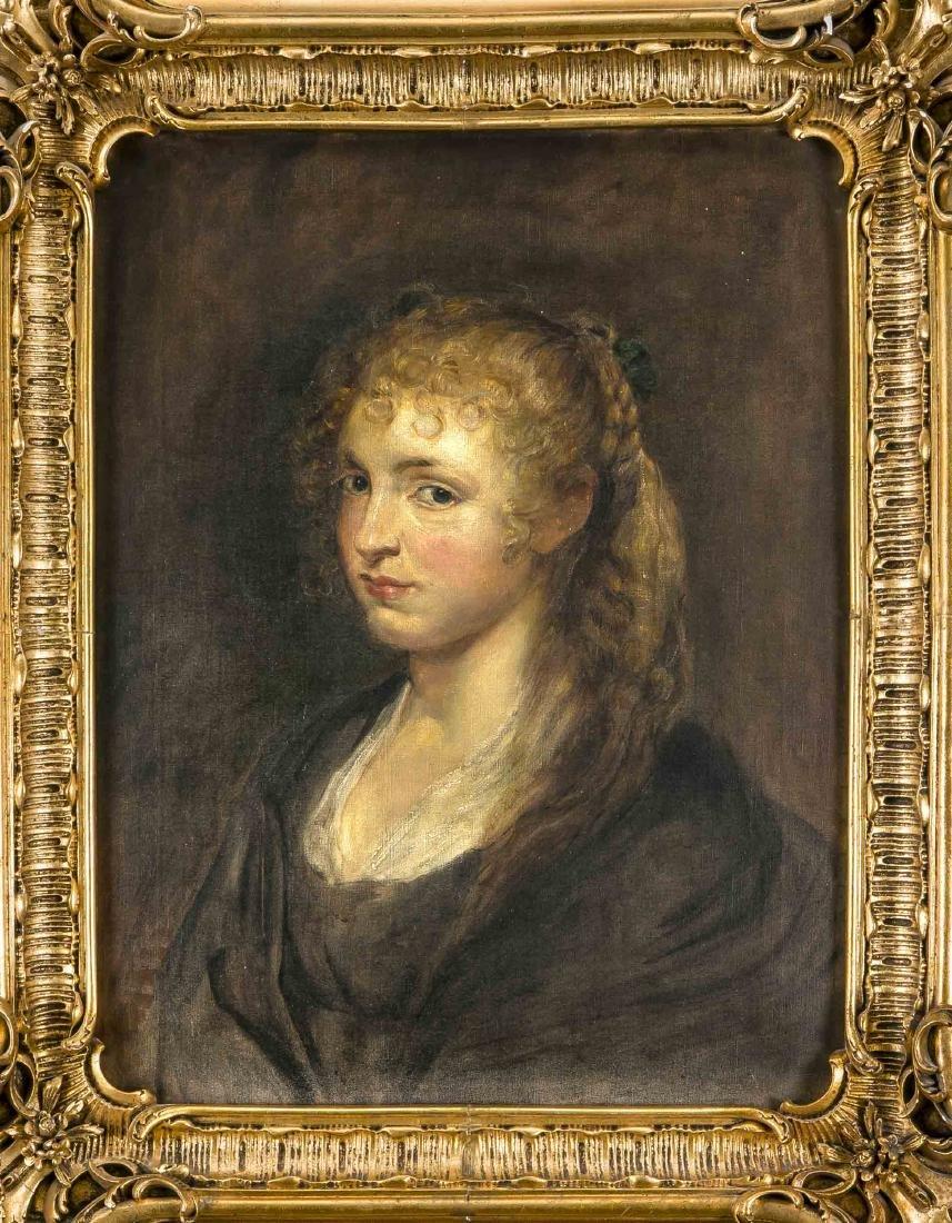 Flemish portrait painter of the 17th century, copy
