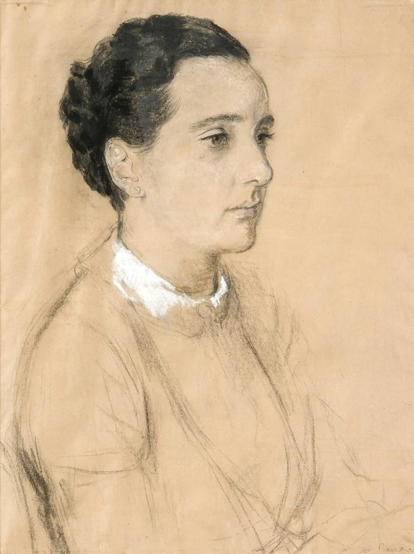 Josef Pieper (1907-1977), German painter, Portrait of