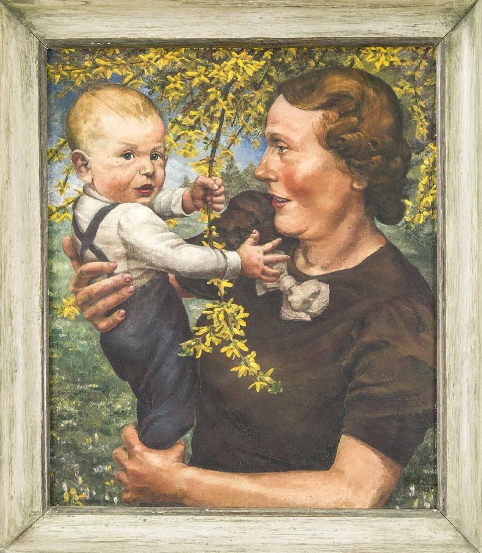 Frieda Amm-Kemnitz (1895-1989), born in Hildesheim.