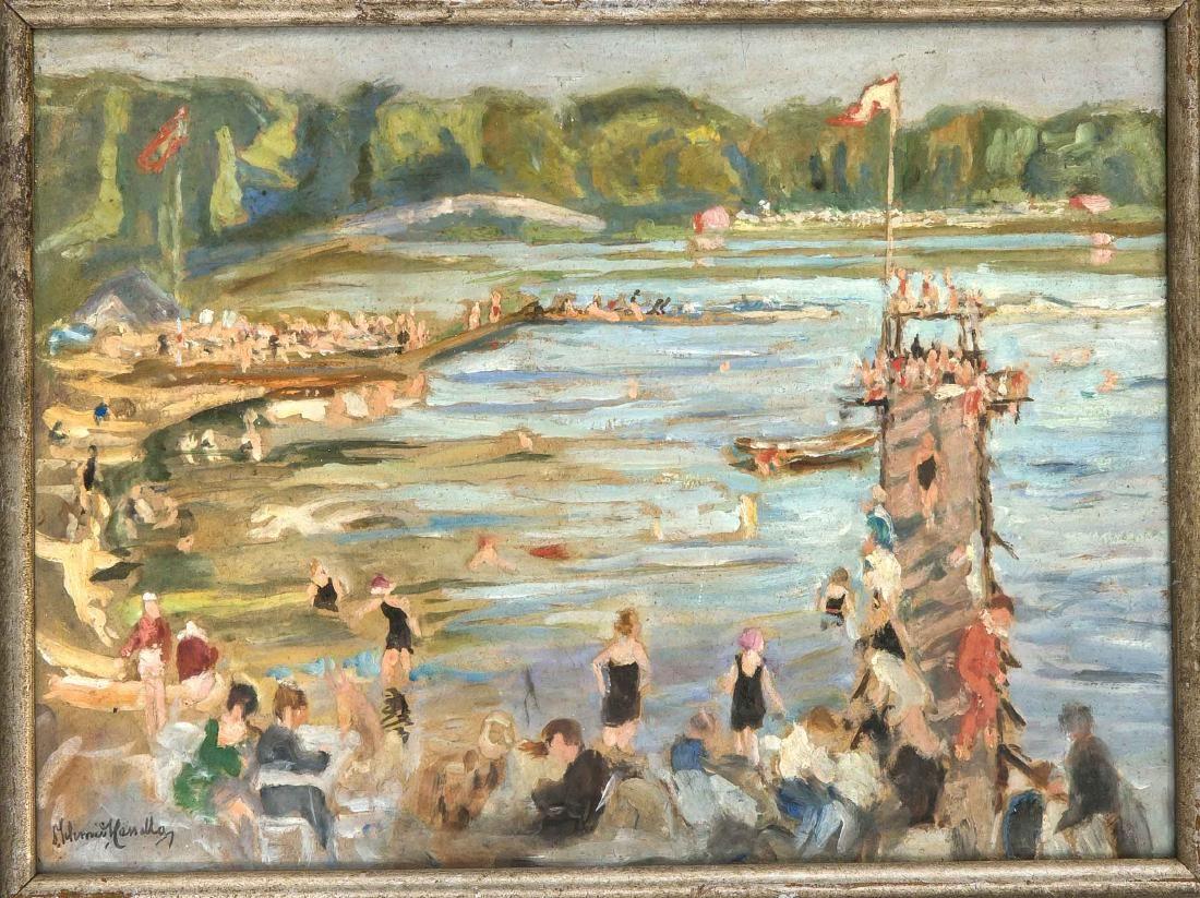 Otto Schmidt-Cassella (1876-1954), Berlin landscape