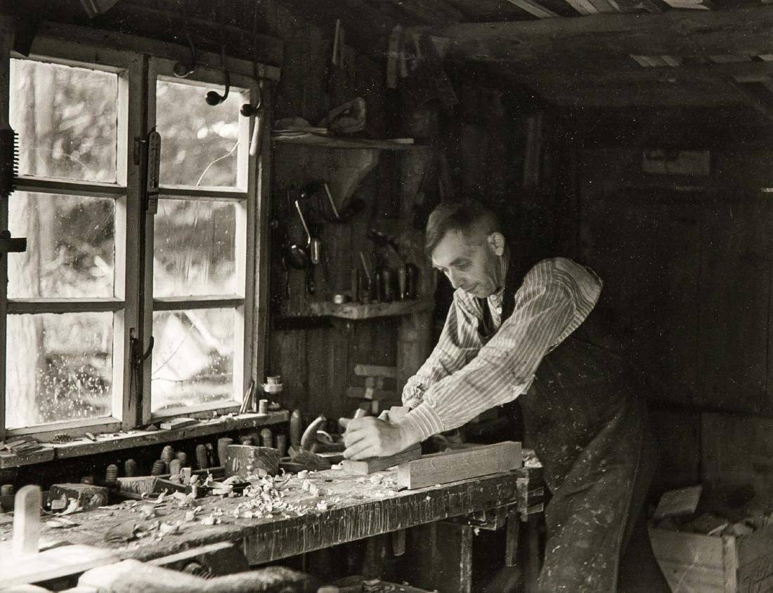 Hans Saebens (1895-1969), ''The village carpenter'',