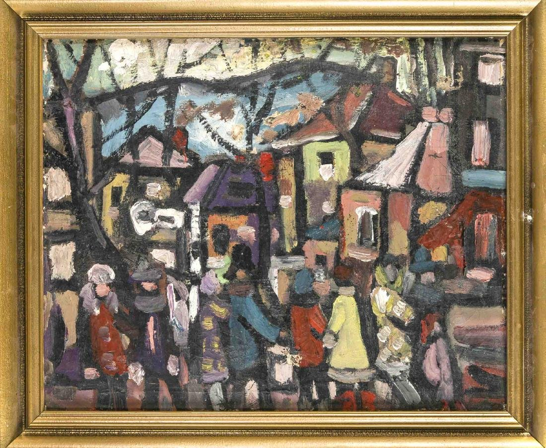 Anonymous painter in the mid 20th century, expressive