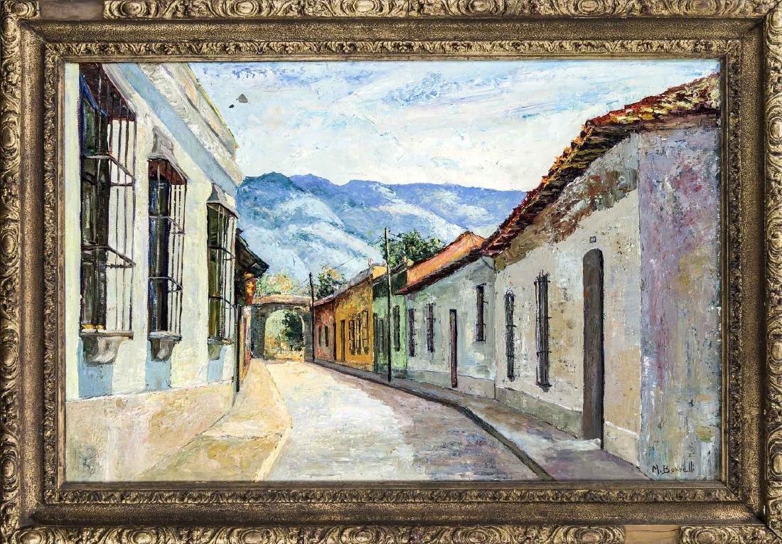 Mario Borrelli, contemporary Venezuelan artist, street