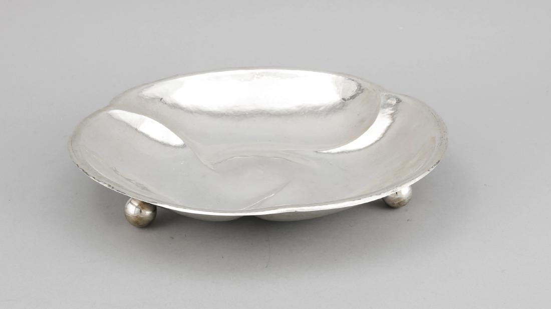 Round Art Deco Bowl, German, 1930s, marked Louis