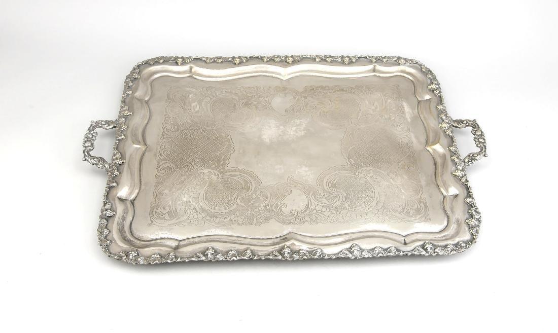Large rectangular tray, 1st half of the 20th century,