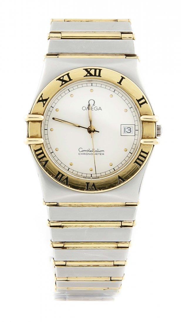 HAU Omega Stahl/GG 750/000 Constellation Chronometer