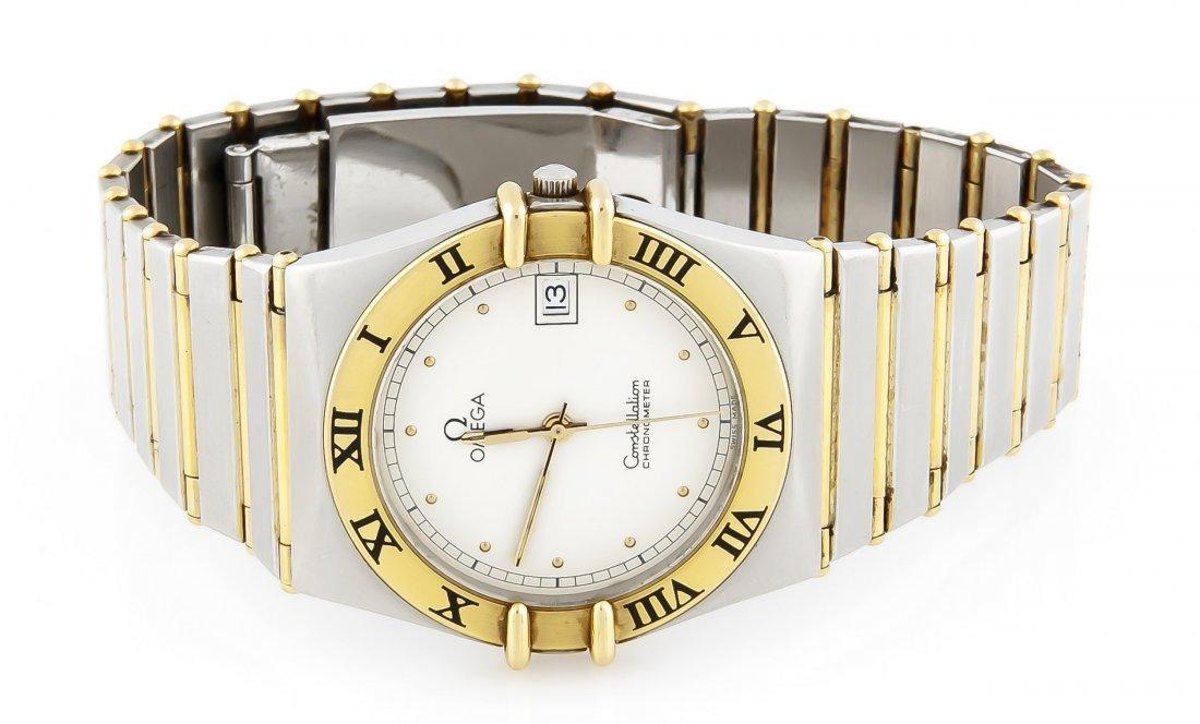 HAU Omega Stahl/GG 750/000 Constellation Chronometer - 2