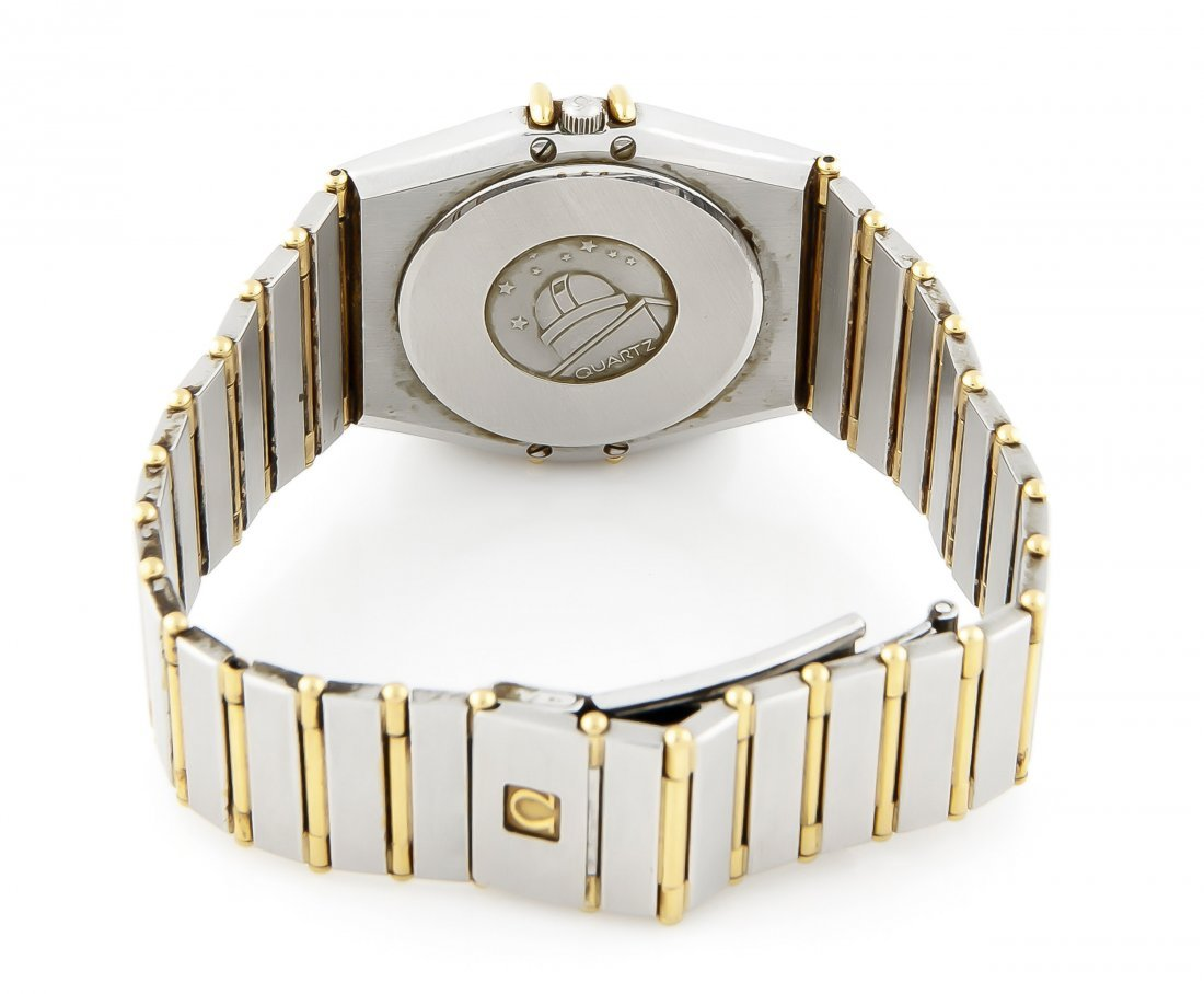 HAU Omega Stahl/GG 750/000 Constellation Chronometer - 3