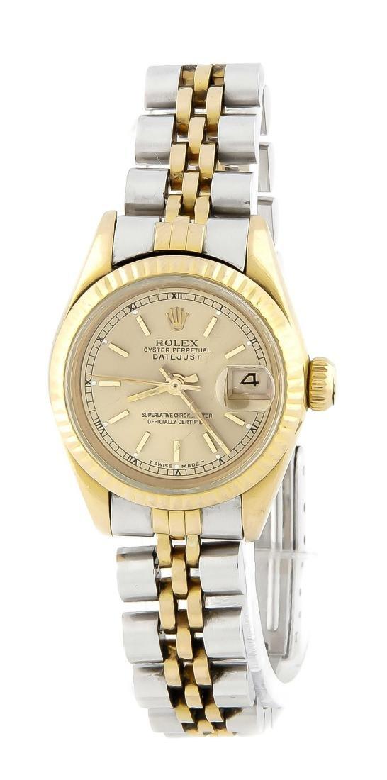 Rolex Damenuhr 750/000 Gold, Mod. 69178 aus ca. 1985,