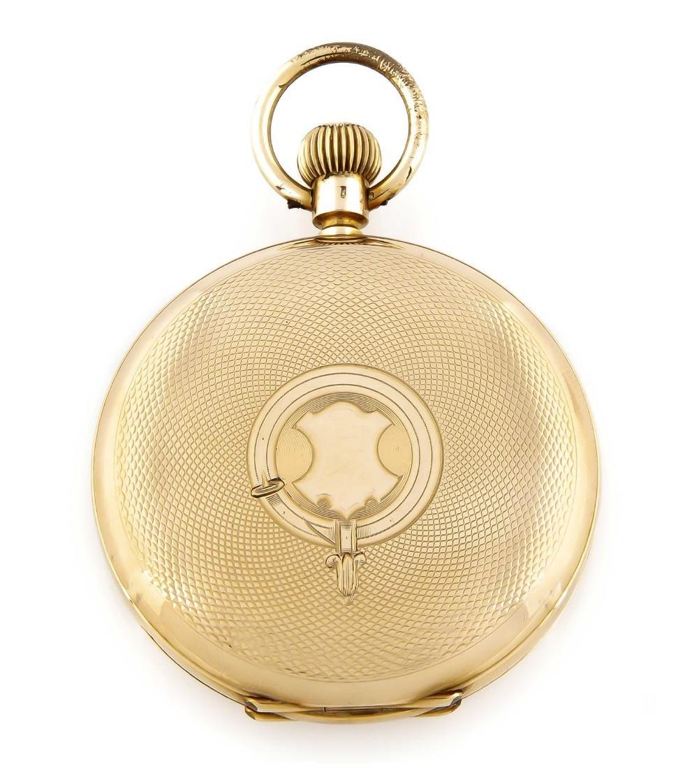 Herren-Sprungdeckeltaschenuhr, Thalia, 585 Gold, - 3