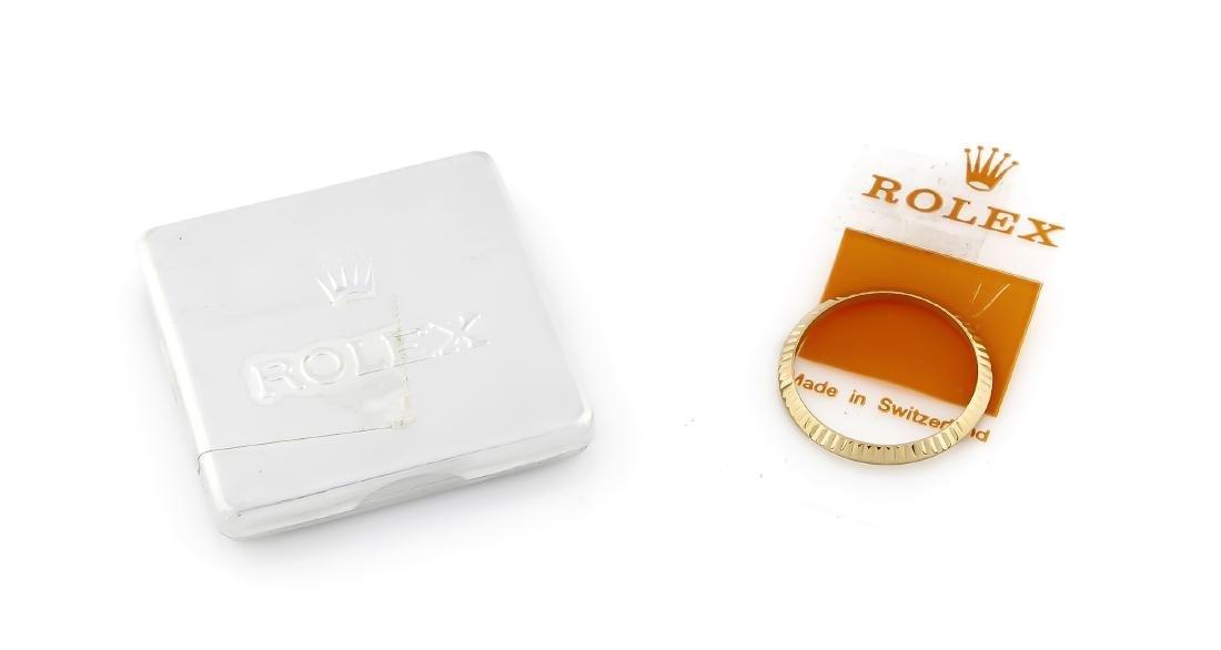 Original Rolex Lünette Gold 750/000, Nr. 53,
