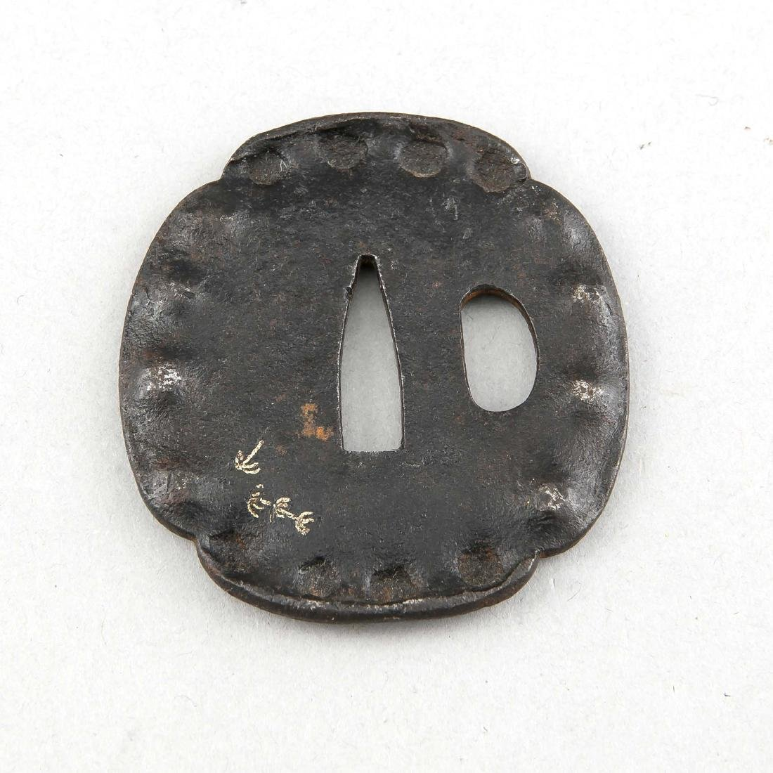 Tsuba (Katana-Stichblatt), Japan, 19. Jh., Mokko-Form - 2