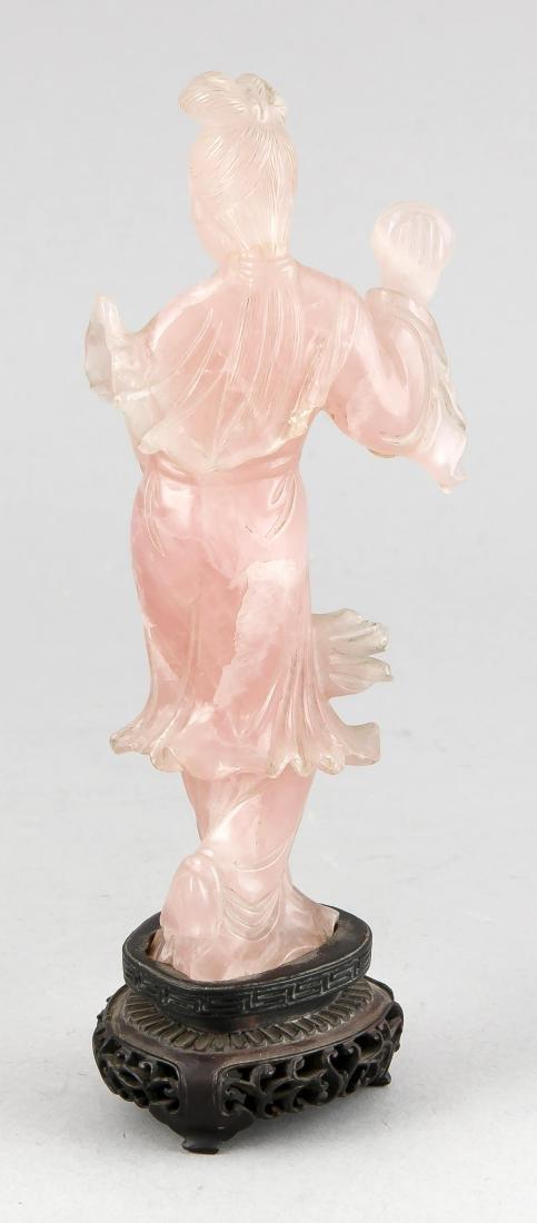 Statuette einer Frau (Guanyin?), China um 1900, - 2