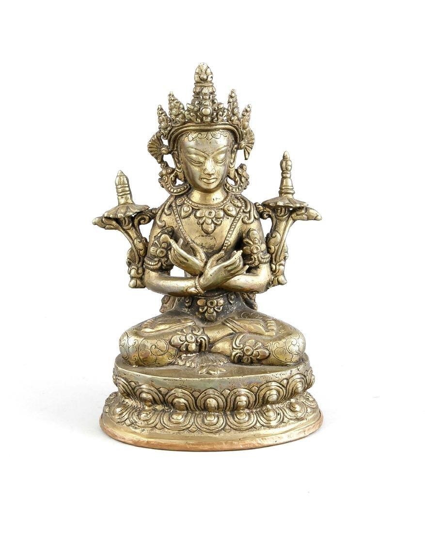 Sitatara im Padmasana, China/Tibet, Anfang 20. Jh.,