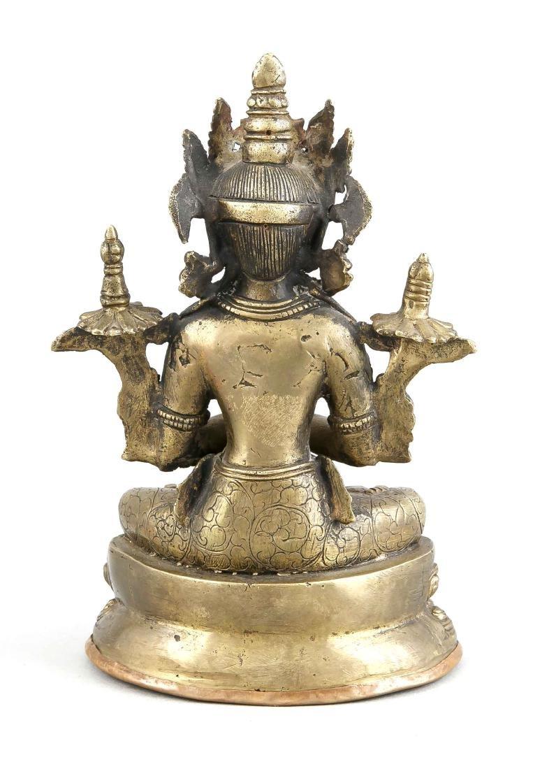 Sitatara im Padmasana, China/Tibet, Anfang 20. Jh., - 2
