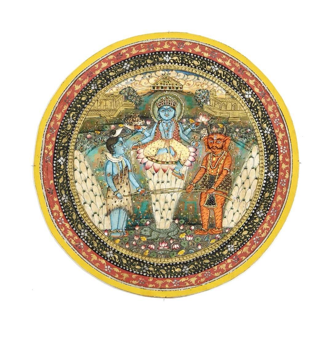 Miniaturmalerei, Indien (Rajastan/Jaipur), opake