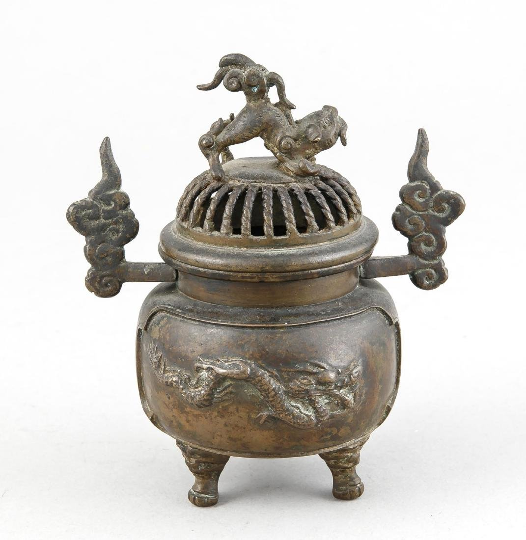 A small Ming-style incense burner, Qing period - 2